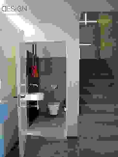 Moderne badkamers van kabeDesign kasia białobłocka Modern