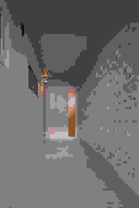 長閑の家 プラソ建築設計事務所 モダンスタイルの 玄関&廊下&階段