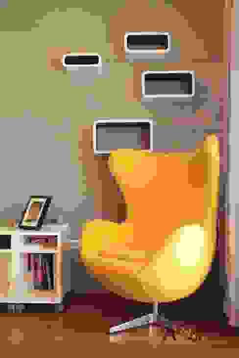 Salas de estar minimalistas por AW INTERIOR DESIGN Minimalista