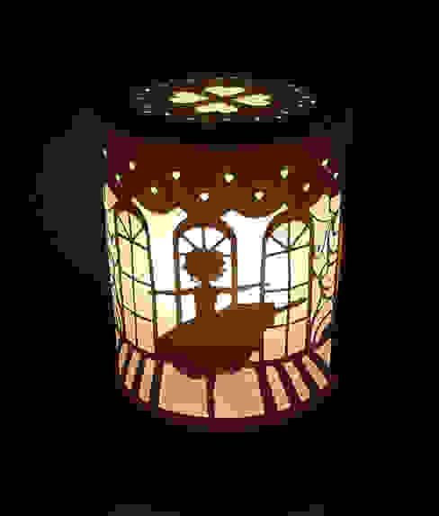 Lampe danseuse par Le petit monde de Zoé Minimaliste