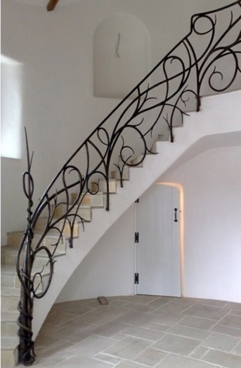 Luxury Balustrades Maison Noblesse Corridor, hallway & stairs Stairs