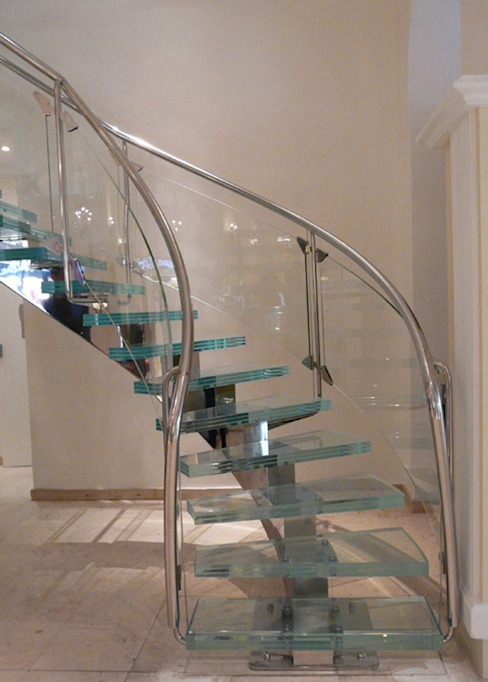 Escalier cristal S.I.B