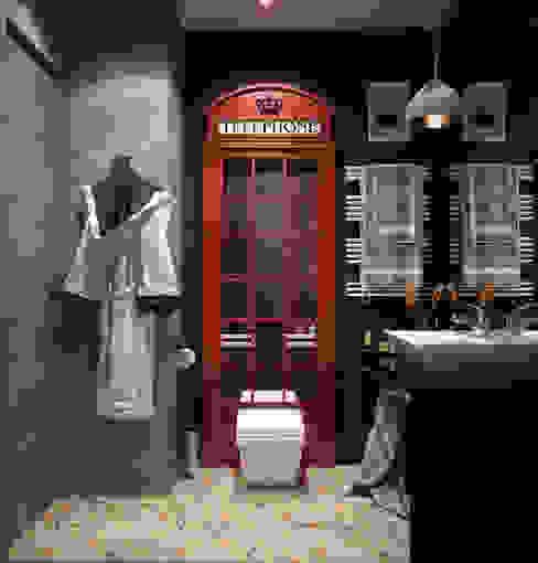 Reroomが手掛けた浴室, インダストリアル