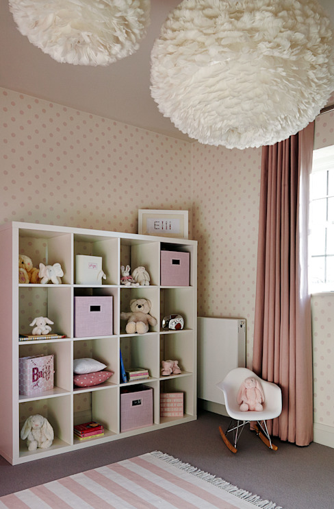Nursery Modern nursery/kids room by homify Modern