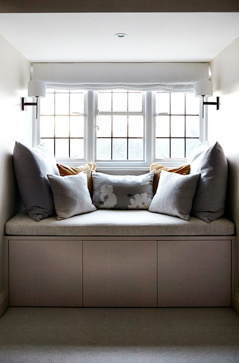 Banquette Seating Modern style bedroom by Studio Duggan Modern