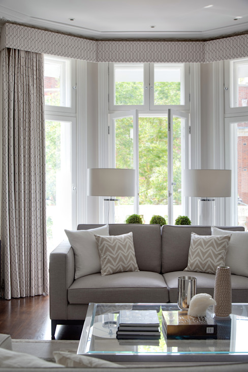 Living Room Modern living room by homify Modern