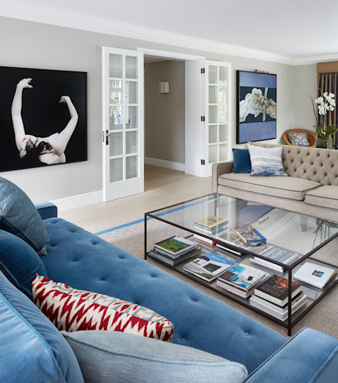 Living Room by homify Modern