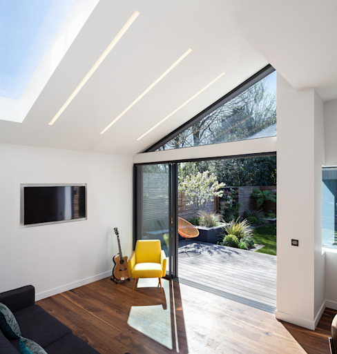Winchmore Hill, London Modern Windows and Doors by Maxlight Modern