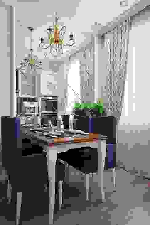 Квартира в стиле современная классика: Кухни в . Автор – Студия дизайна интерьера Маши Марченко, Эклектичный
