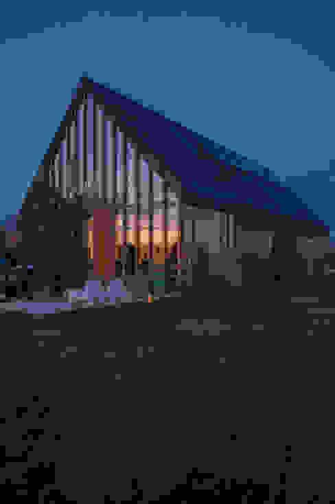 Maisons modernes par Zwarthout Shou Sugi Ban Moderne