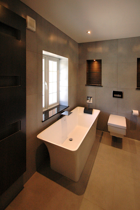 Contemporary Bathroom Moderne badkamers van David Carrier Bathrooms Modern
