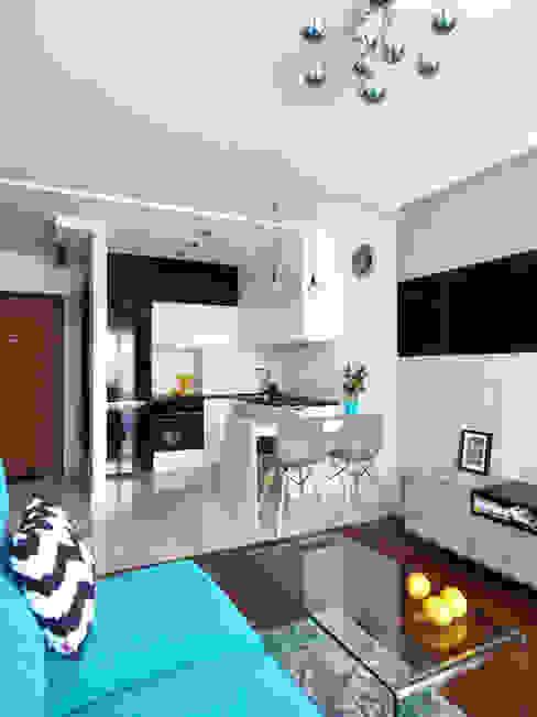 Cucina moderna di Interiori Pracownia Architektury Wnętrz Moderno