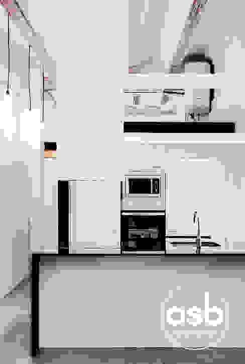 rafa Cocinas de estilo industrial de osb arquitectos Industrial