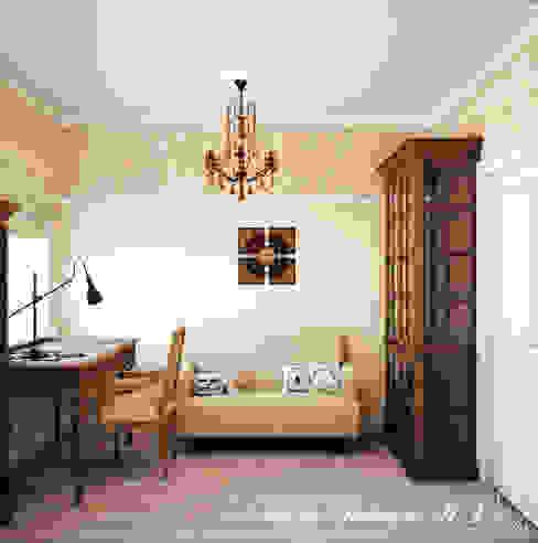 Country Living Рабочий кабинет в эклектичном стиле от Marina Sarkisyan Эклектичный