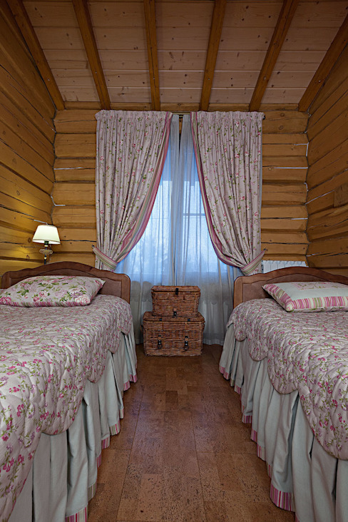Rustic style bedroom by Николай Карачев Rustic