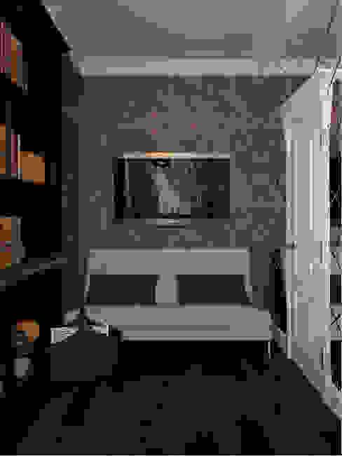 Phòng học/văn phòng phong cách chiết trung bởi Студия дизайна интерьера Маши Марченко Chiết trung