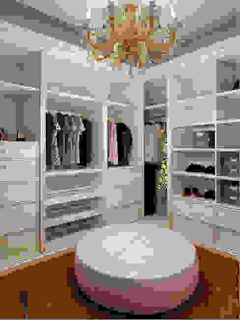 Phòng thay đồ phong cách chiết trung bởi Студия дизайна интерьера Маши Марченко Chiết trung