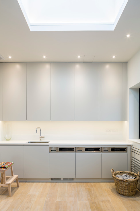 Muswell Hill House 1, London N10 Modern kitchen by Jones Associates Architects Modern