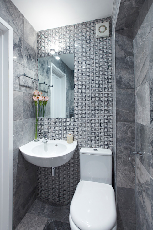 1880s refurbishment:  Bathroom by Etons of Bath, Modern