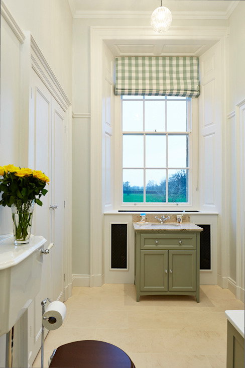 Georgian Country House Classic style bathroom by Etons of Bath Classic