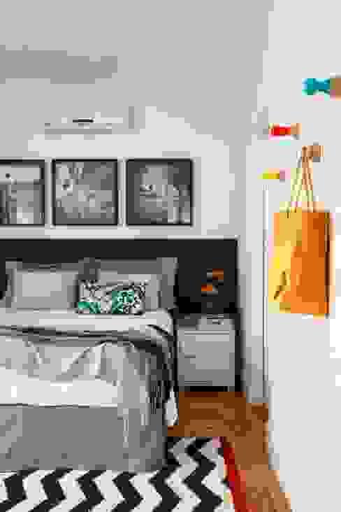 Apartamento Laranjeiras Quartos modernos por Barbara Filgueiras arquitetura Moderno