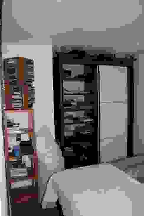 Appartement Pastourelle - Chambre avant projet homify Chambre moderne