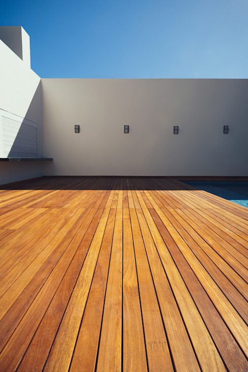 Residencia R53 Balcones y terrazas modernos de Imativa Arquitectos Moderno