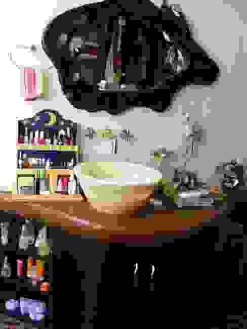 Baño de Recamara Superior:  de estilo  por Cenquizqui, Rústico