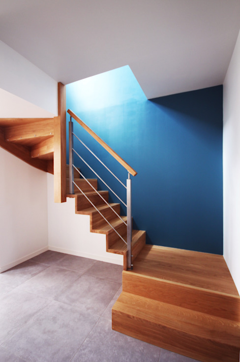 modern  door Franck LABBAY Architecte, Modern