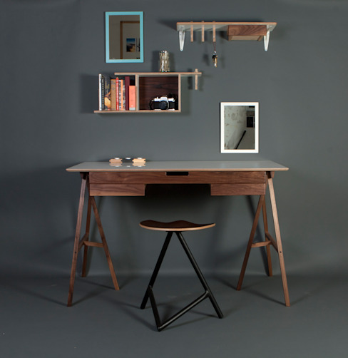 PLAN DESK JAMES TATTERSALL Pareti & Pavimenti in stile moderno