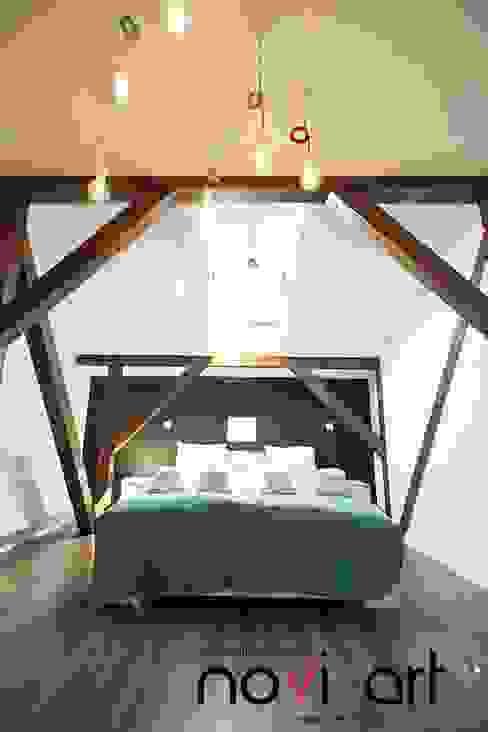 Projekty,  Sypialnia zaprojektowane przez homify, Skandynawski