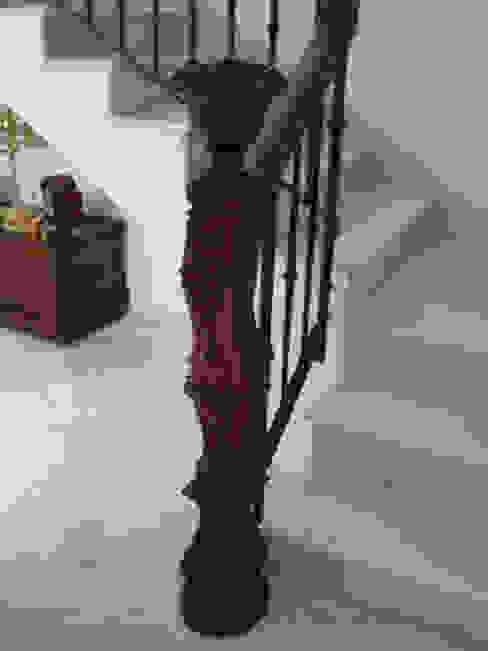 Pasamanos:  de estilo colonial de carpinteria y ebanisteria paez, Colonial