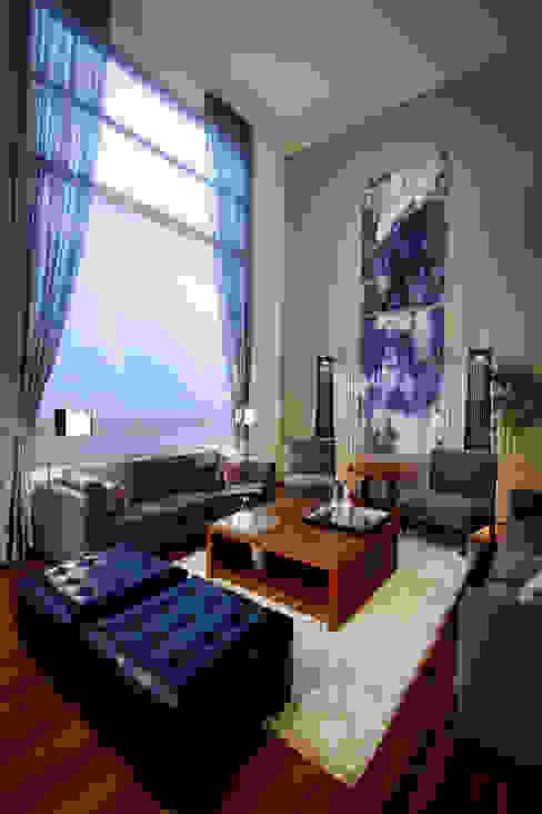 Salon moderne par Concepto Taller de Arquitectura Moderne