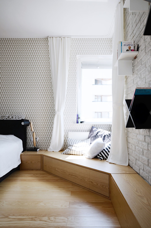 Bedroom by Devangari Design, Scandinavian