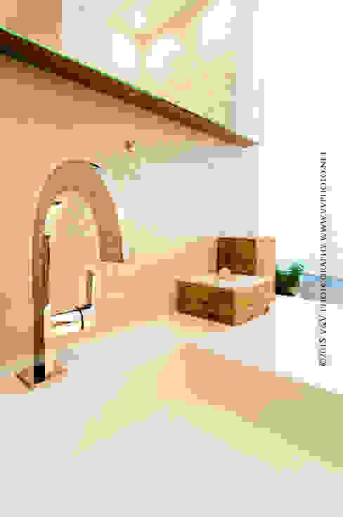 RENOVATION SALLE DE BAINS Salle de bain moderne par CREATRYS Moderne