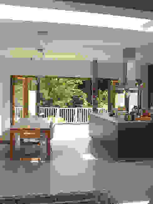 leefkeuken Moderne keukens van Boks architectuur Modern