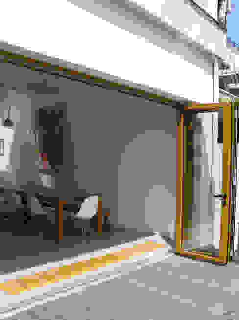 vouwpui Moderne huizen van Boks architectuur Modern