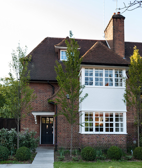 Rotherwick Road - ​Hampstead Garden Suburbs 'Arts & Crafts' House Modern houses by TG Studio Modern