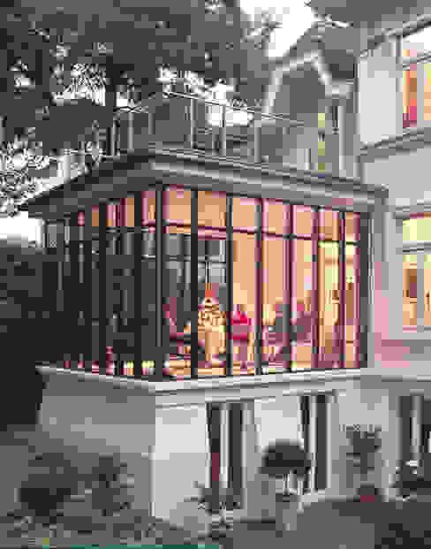 Wintergarten als Esszimmer Klassische Häuser von v. Bismarck Architekt Klassisch