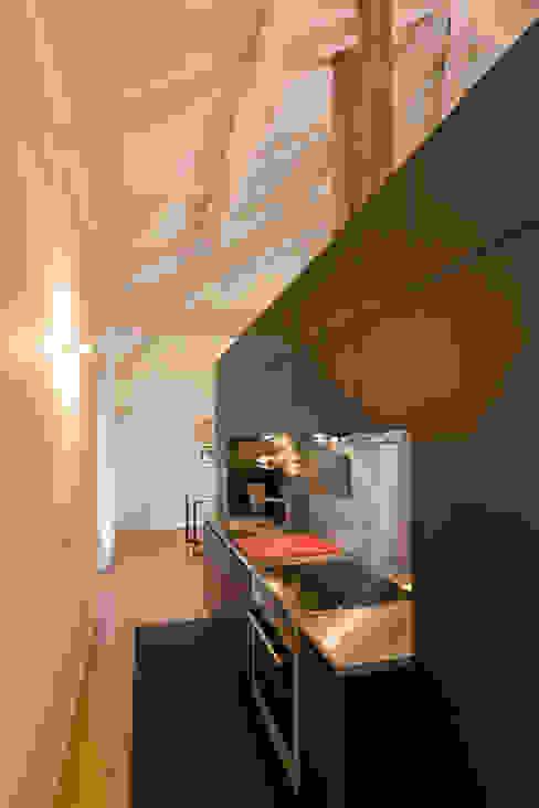Minimalist kitchen by Paulo Freitas e Maria João Marques Arquitectos Lda Minimalist