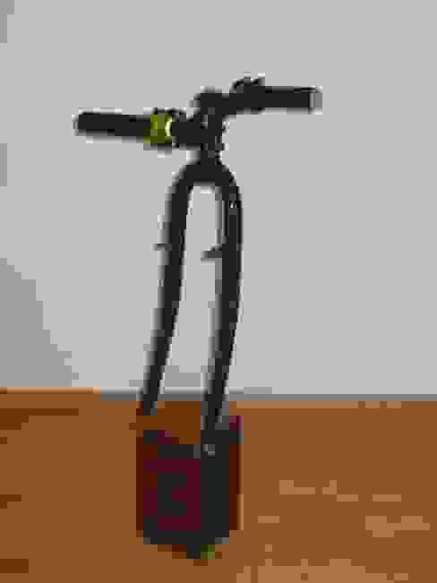 de Holzsteinkunstobjekte Ecléctico Madera Acabado en madera