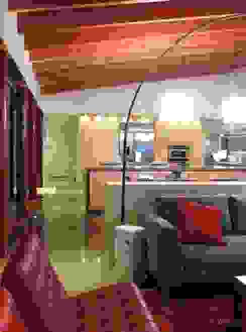 Salas / recibidores de estilo  por Alvaro Moragrega / arquitecto,