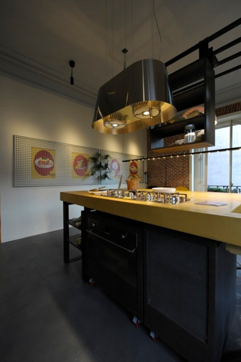 Cocinas de estilo  por  Simona Garufi, Industrial