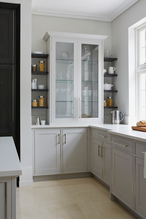 Townhouse Kitchen, Kingston upon Thames Modern kitchen by LINLEY London Modern
