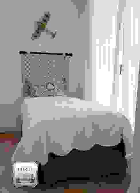 Confección de cabecero de cama de Tapicería Conde Moderno