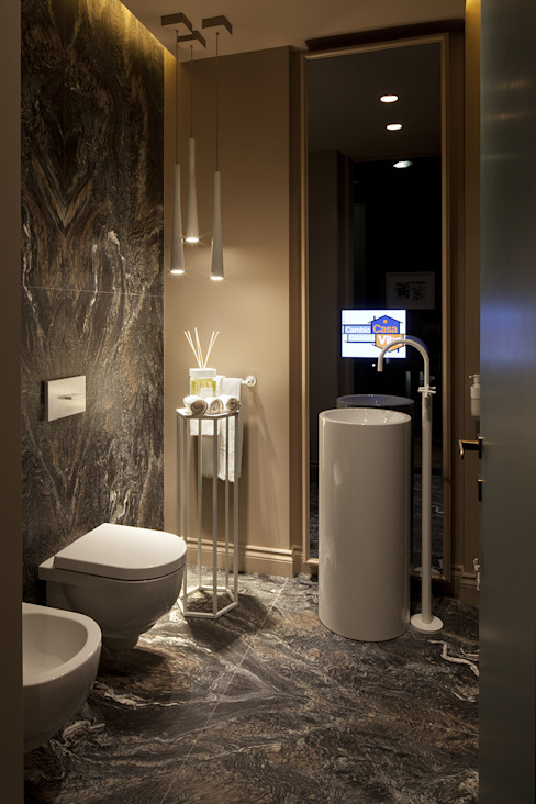 Il bagno cortesia Studio Andrea Castrignano Bagno in stile classico