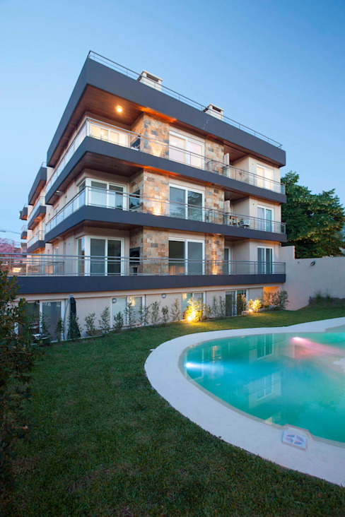 Stay Martinez Casas modernas: Ideas, imágenes y decoración de LLACAY arquitectos Moderno