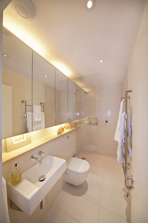 Basement Bathroom من Gullaksen Architects إسكندينافي