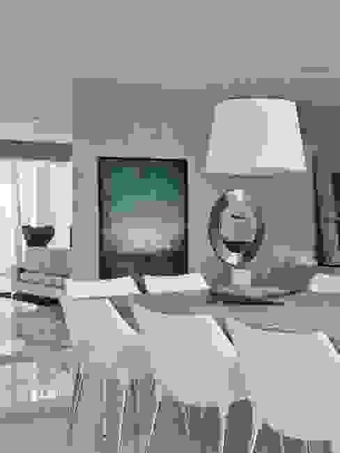 Cobertura Central Park SP Salas de jantar modernas por Lovisaro Arquitetura e Design Moderno