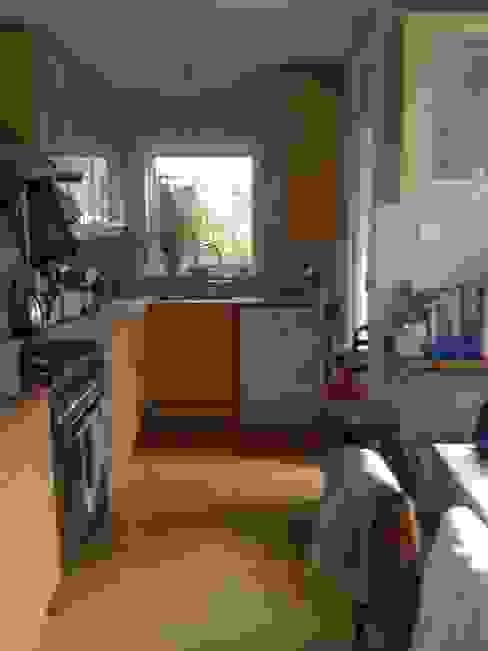 Kitchen before: modern  by Gullaksen Architects, Modern